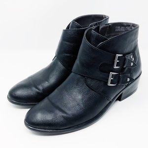 Aerosoles Women's 7.5US Black Buckle Bootie/Boot